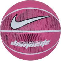40468e2c00 Bola De Basquete Nike Dominate 8P - Rosa