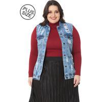 Colete Mulher Única Jeans