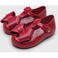 Sapatilha Pimpolho Infantil Colore Vermelha