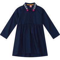 Vestido Lilica Ripilica Bebê 1010997366577 Azul