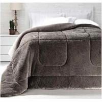 Cobertor King Size Em Poliéster Duoblanket Verde Musgo - Kacyumara