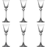 Conjunto 6 Taças Para Licor Alexandra Em Cristal - 60 Ml - Bohemia Crystalite