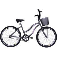 Bicicleta Aro 26 Beach Feminina - Feminino