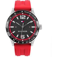 50ce6778def CEA  Relógio Tommy Hilfiger Masculino Borracha Vermelha - 1791535