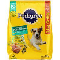 Ração Para Cães Pedigree Adulto Raças Pequenas Leve 10,1Kg E Pague 9Kg