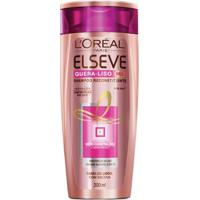 Shampoo L'Oréal Paris Elseve Quera-Liso Mq 230°C - 200Ml - Unissex-Incolor