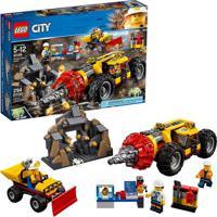 Lego City Perfuradora Pesada De Mineração Lego 60186