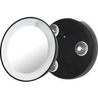 Klass Vough Magnifying Lens Espelho Aumento 15X Com Ventosa E Luz 10,6Cm - Unissex-Incolor