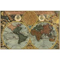Quebra-Cabeça - 2000 Peças - Conhecendo O Mundo Século Xvii - Toyster - Unissex-Incolor