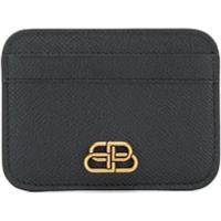 Balenciaga Porta Cartões Clássico - Preto
