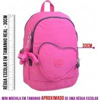 Mini Mochila Kipling Heart Backpack K2108634T Pink Berry C
