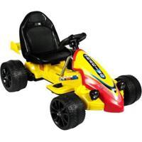 Carrinho Infantil Elétrico Fórmula Esporte, 12V Belfix Bel Brink - Unissex-Amarelo