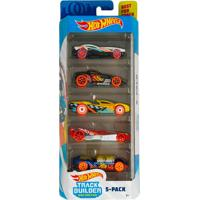 Pack 5 Carrinhos Hot Wheels Track Builder Unlimited - Mattel