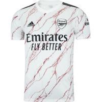 Camisa Arsenal Ii 20/21 Adidas - Masculina - Branco