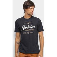 Camiseta Hd Stay Postive Masculina - Masculino-Preto