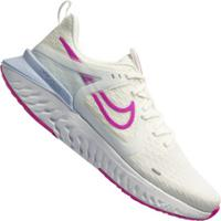 Tênis Nike Legend React 2 - Feminino - Off White/Rosa