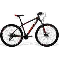 Bicicleta Gts M1 Aro 29 Freio A Disco Hidráulico Câmbio Gts M1 Sti10 30 Marchas E Amortecedor - Unissex