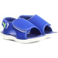 Papete Infantil Klin Tic Tac Velcro Masculina - Masculino-Azul