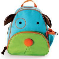 Mochila Infantil Skip Hop Zoo Cachorro - Unissex-Azul+Verde