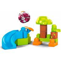 Mega Bloks Peek A Blocks Descida Do Panda - Mattel