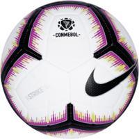 Bola De Futebol De Campo Nike Csf Strike - Branco/Preto