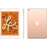 "Ipad Mini Ouro Com Tela 7,9"", Wi-Fi, 64 Gb, Processador Chip A12 Bionic - Muqy2Bz/A"