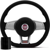 Volante Esportivo Golf Gti Mk7 Automotivo Fiat Com Cubo Poliparts