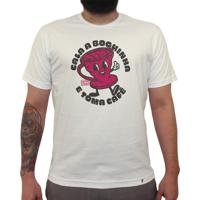 Cala A Boquinha E Toma Café - Camiseta Clássica Masculina