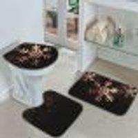 Jogo Tapetes Para Banheiro Estrela Premium Único