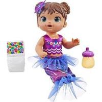 Boneca Baby Alive Linda Sereia Com Acessórios - Feminino-Colorido