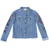 Jaqueta Jeans Floral - Azul Clarohering