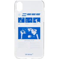 Off-White Iphone Xr Graphic Print Case - Branco