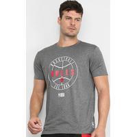 Camiseta Nba Chicago Bulls 1946 Masculina - Masculino-Grafite+Cinza