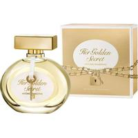 Her Golden Secret By Antonio Banderas Eau De Toilette Feminino 80 Ml