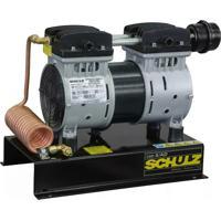 Compressor De Ar Direto Schulz Csd5 / Ad, Isento De Óleo, 1 Hp, Com Base