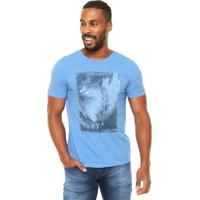 Camiseta Aramis Estampa Azul