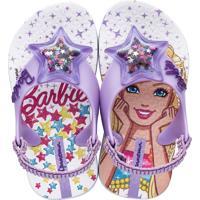 Chinelo Infantil Barbie Ipanema 25928