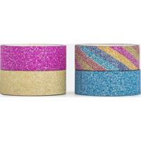 Kit Fita Adesiva Com Glitter
