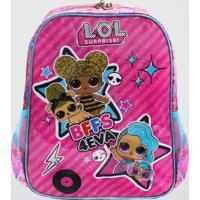 Mochila Lol Bff Infantil Média Luxcel (Pink, M)