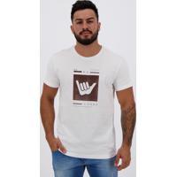 Camiseta Hang Loose Silk Logart Branca