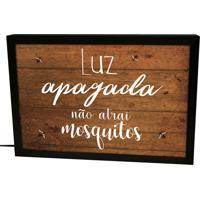 Luminária Prolab Gift Lightbox Mosquitos Preta