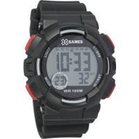 Relógio Digital X Games Xmppd493 - Masculino - Preto
