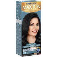 Tintura Creme Maxton 1.01 Preto Carvão Com 1 Unidade 1 Unidade
