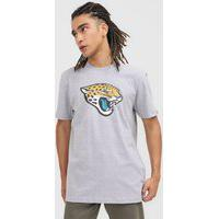 Camiseta New Era Jacksonville Jaguars Cinza
