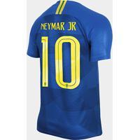 0f15ff7c9 Netshoes  Camisa Seleção Brasil Ii 2018 Nº 10 Neymar Jr - Torcedor Nike  Masculina - Masculino