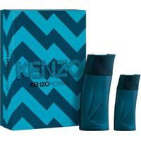 Kit Kenzo Homme Kenzo Perfume 100Ml Edt + Edt 30Ml - Feminino-Incolor