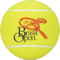 Bola De Tênis Gigante Pró Spin Brasil Open Para Autógrafo - Unissex