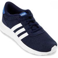 Tênis Infantil Adidas Lite Racer K - Unissex-Azul+Branco