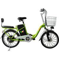 Bicicleta Elétrica Biobike, Quadro Em Aço, Modelo Urbana - Verde