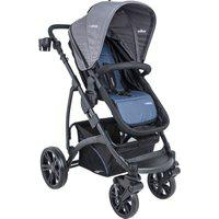 Carrinho De Bebê Explore Kiddo Azul